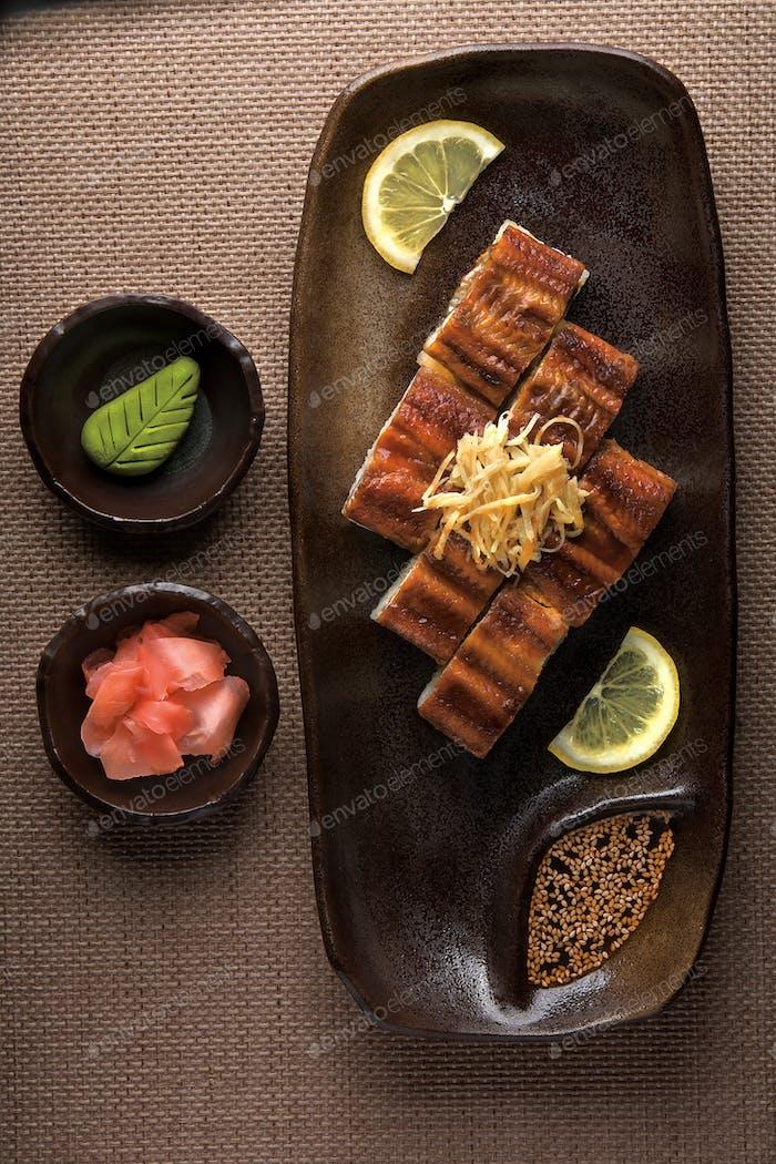 Japanisches Abendessen