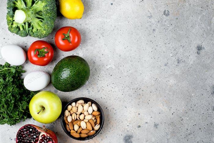 Food Nutrition Konzept.