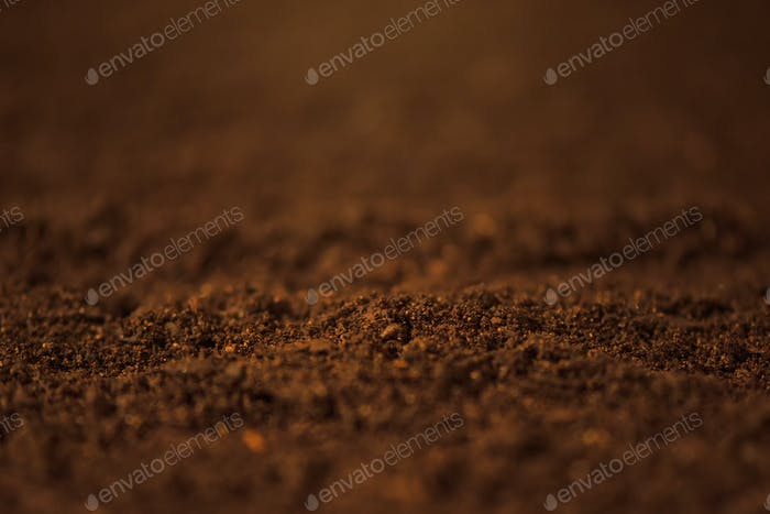 Soil close up
