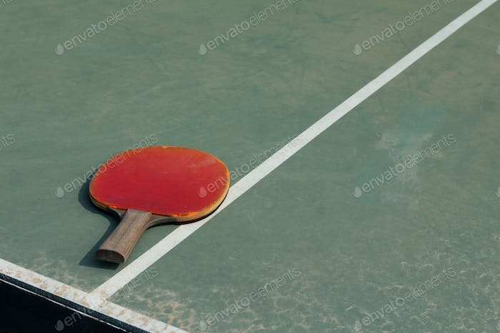 Old Equipment for table tennis