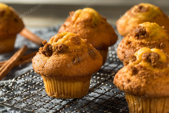 Homemade Sweet Cinnamon Muffins