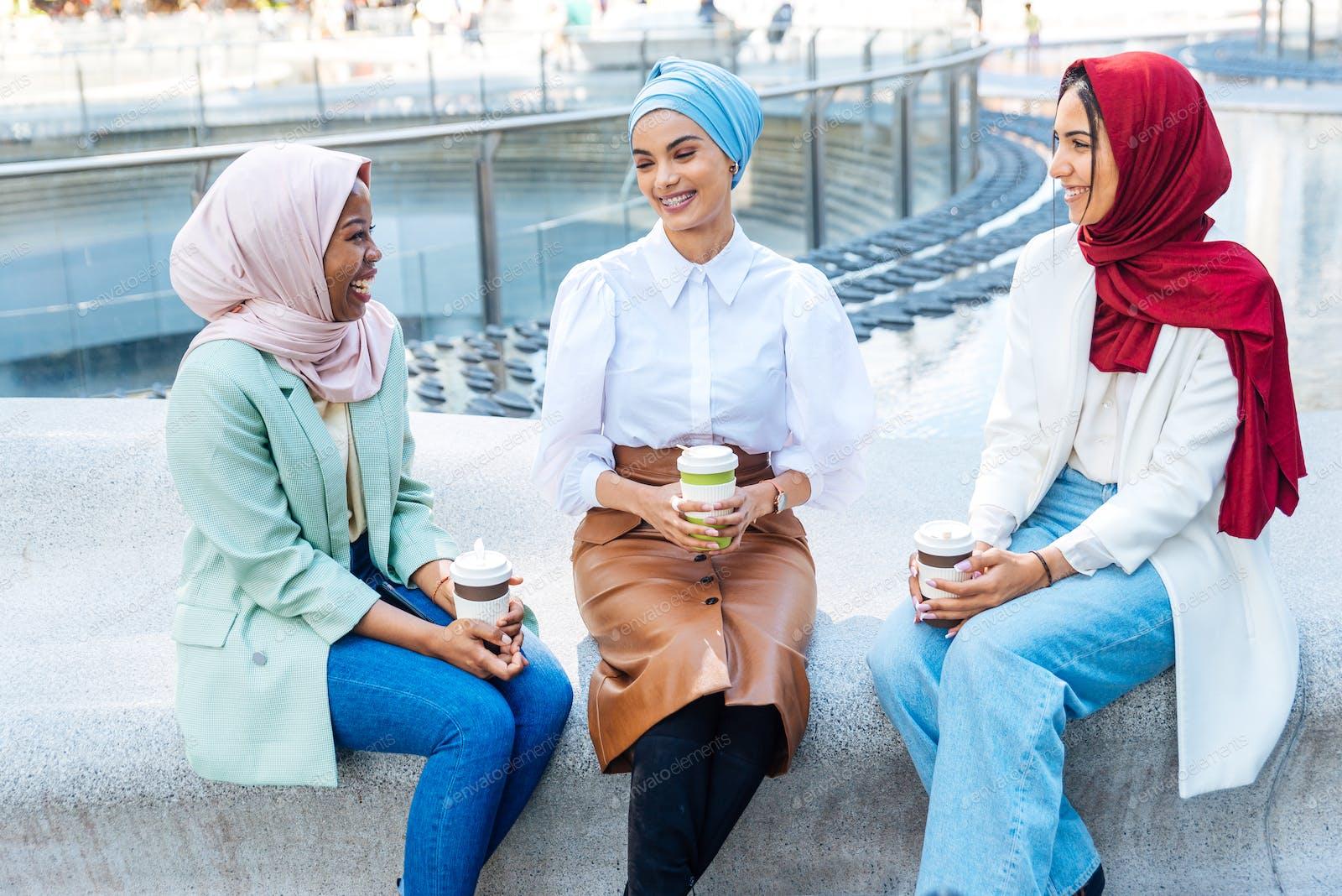 Girls hijab of pics wearing Young girls