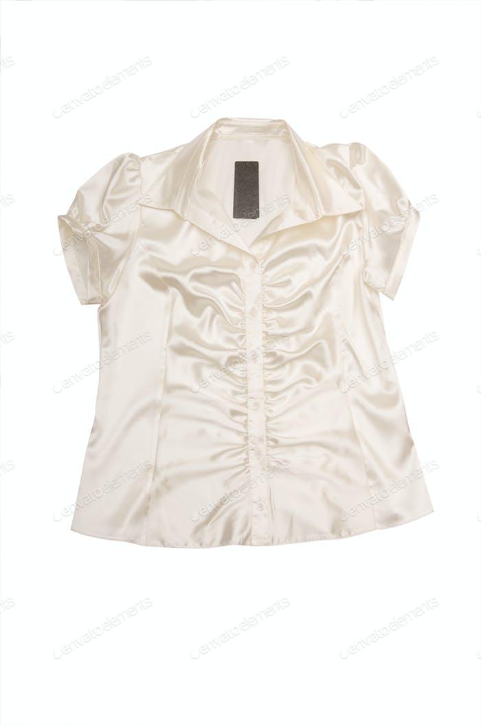 Elegant shirt on a white.