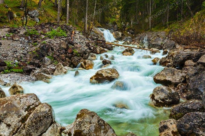Cascade of waterfall, Garmisch-Partenkirchen