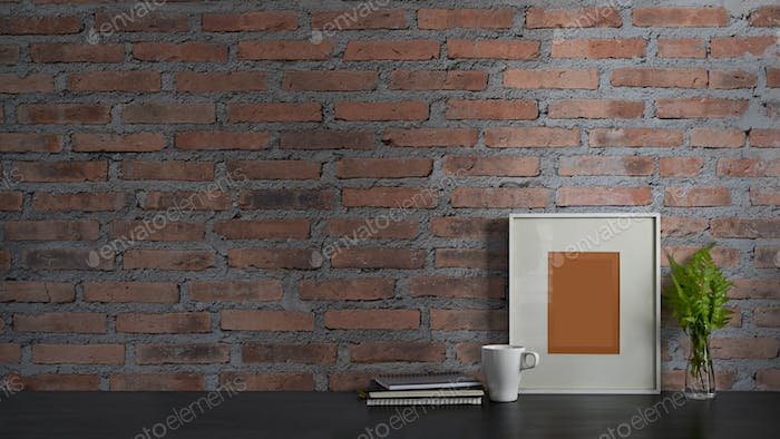 Orderly workspace concept.