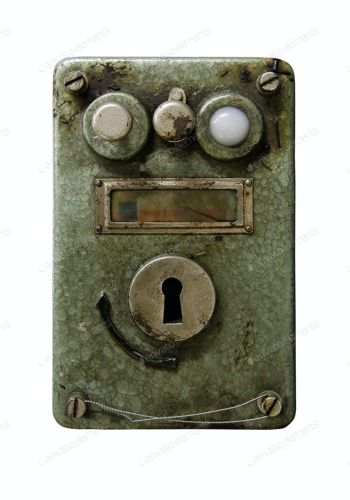 Old bizarre device