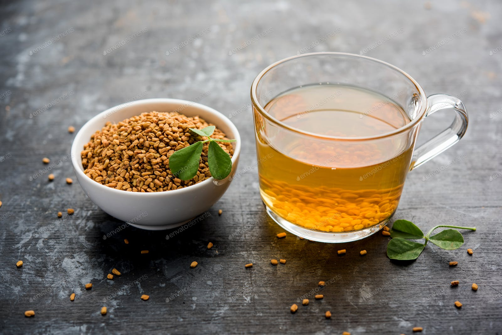 Fenugreek Seeds Or Methi Dana Drink photo by stockimagefactory on Envato  Elements