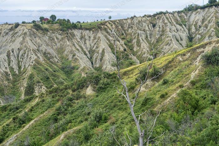 Landscape in the Natural Park of Atri, Abruzzo