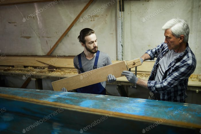 Working with board