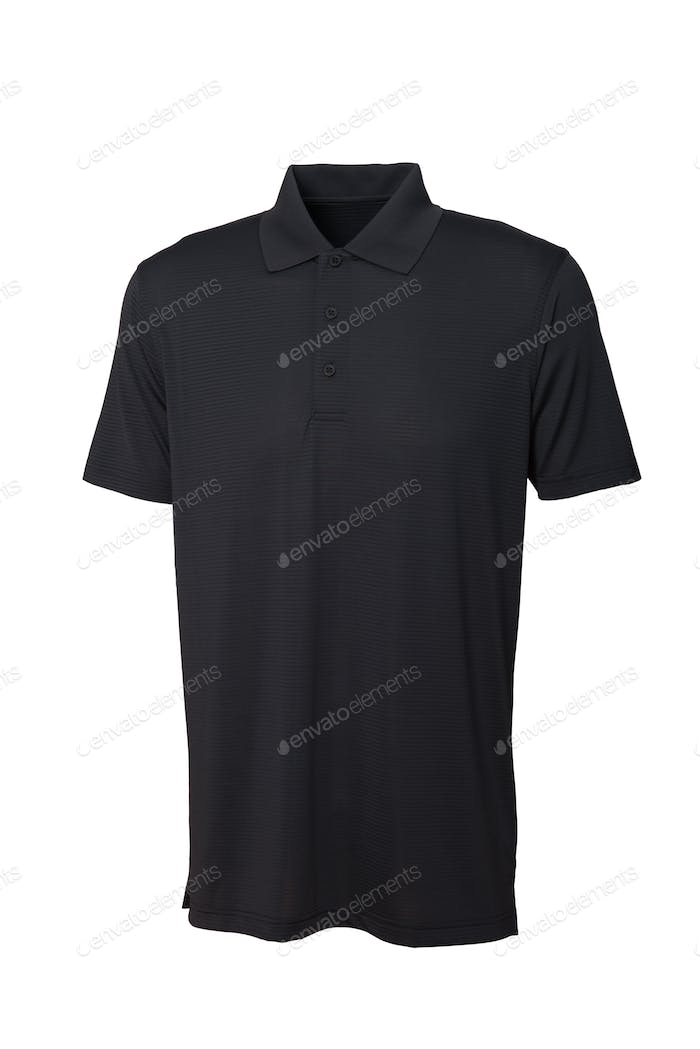 Golf black tee shirt for man or woman