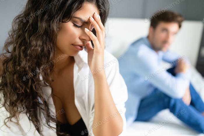 Relationship couple problems affecting sex drive as well