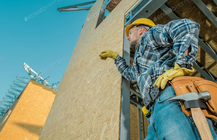 Caucasian Building Contractor