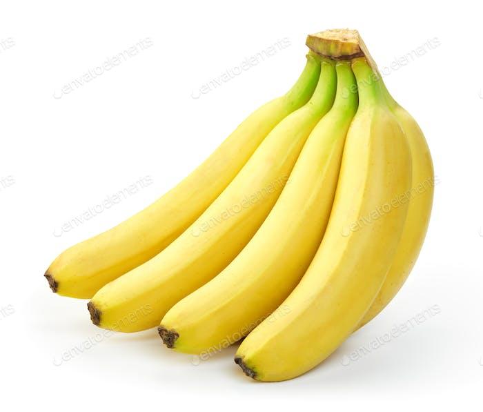 Bündel reifer Bananen