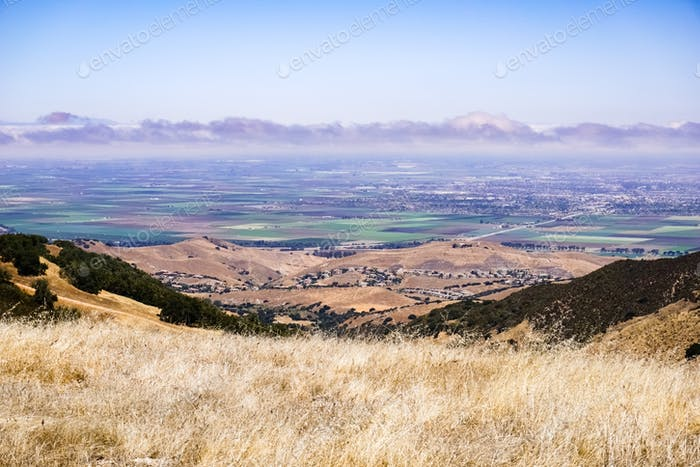 Views towards Salinas from Toro Park, California