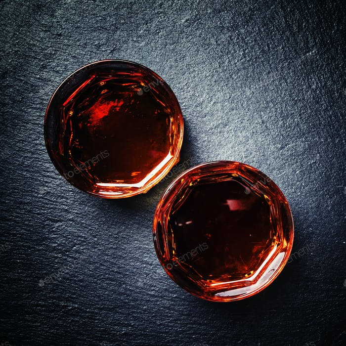 Scotch Whisky im Glas