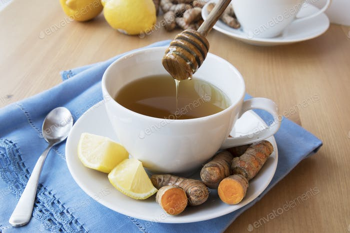 Adding Honey to Tea