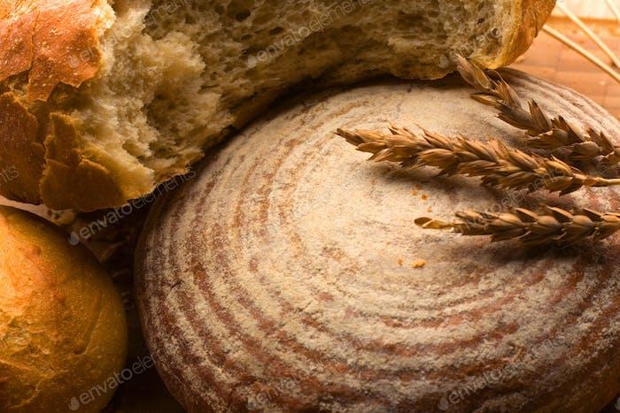 Oven-fresh loaf.