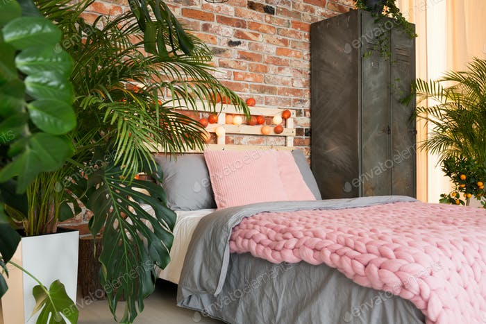 Pastel,ecological bedroom