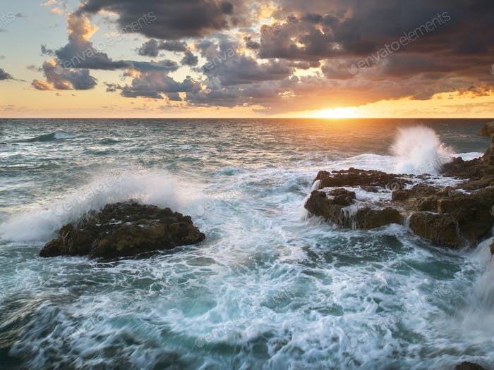 Beautiful seascape nature.