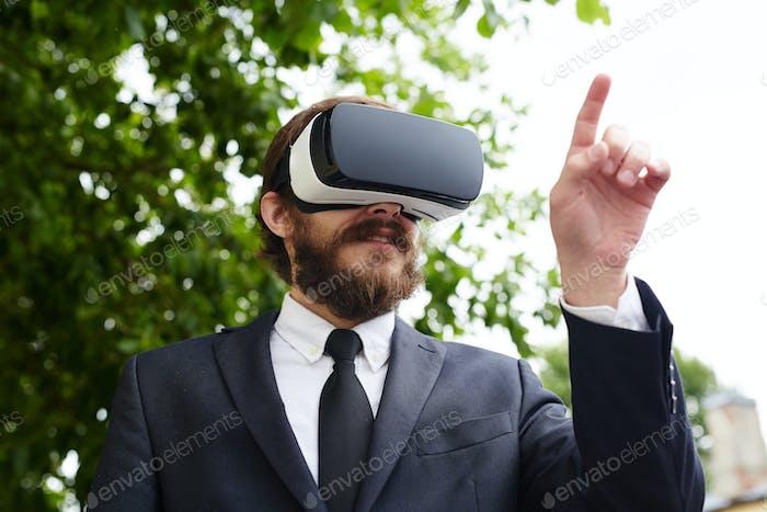 Entering virtuality