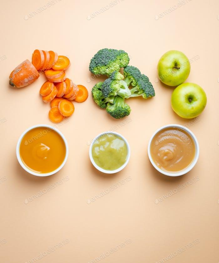 Alimentos naturales para bebés