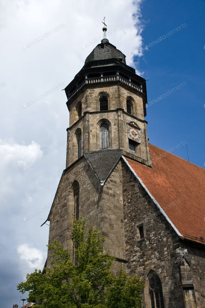 Old church in northern Germany