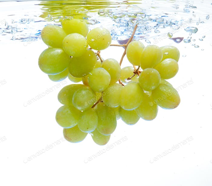 Grapes in the water