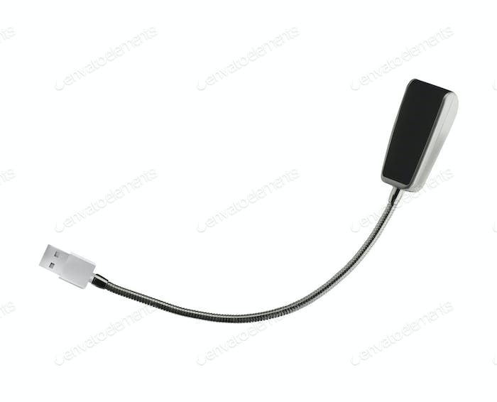 usb led lighting isolate on white background