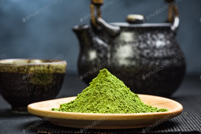 Organic matcha tea powder, oriental tea