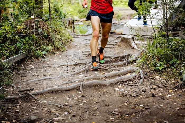 foot runner man
