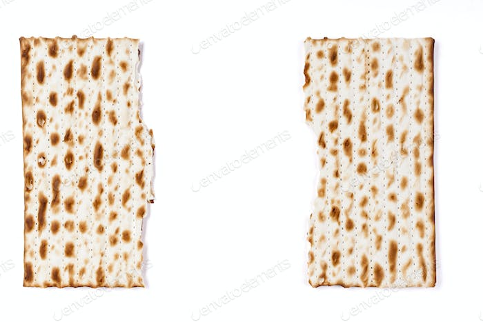 Broken in Half Matzah