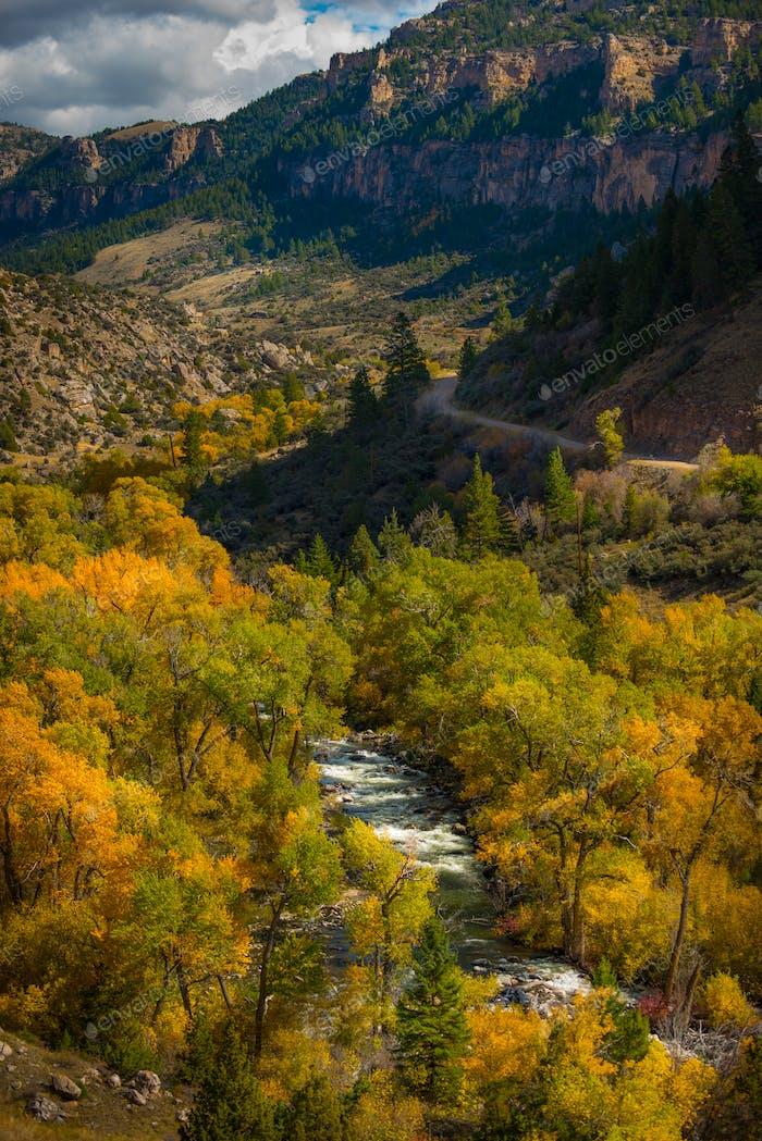 Wyoming Herbst Farben