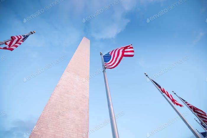 Washington monumentin Washington DC, United States of America, USA