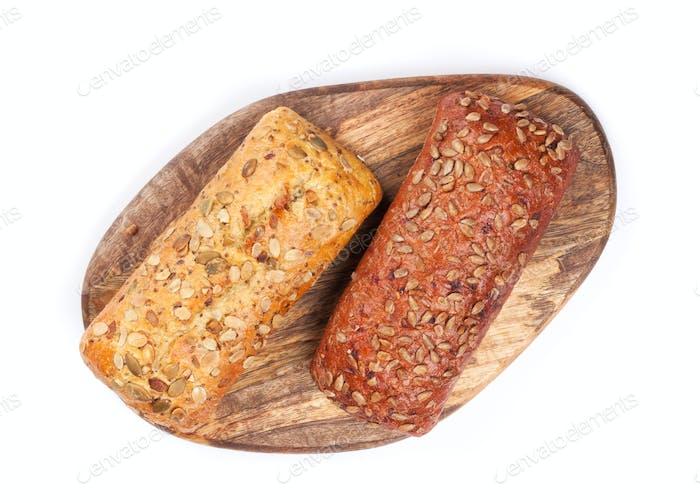 Laib knuspriges Brot