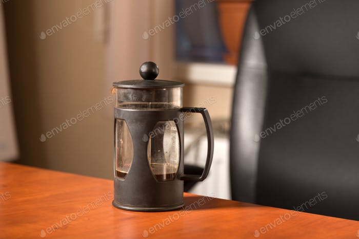 A coffee press for your pleasure at work. The perfect solution for your office staff.