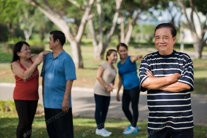 Personas mayores activas