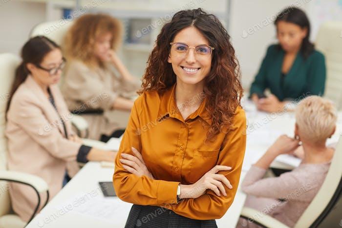 Successful Young Adult Businesswoman Portrait