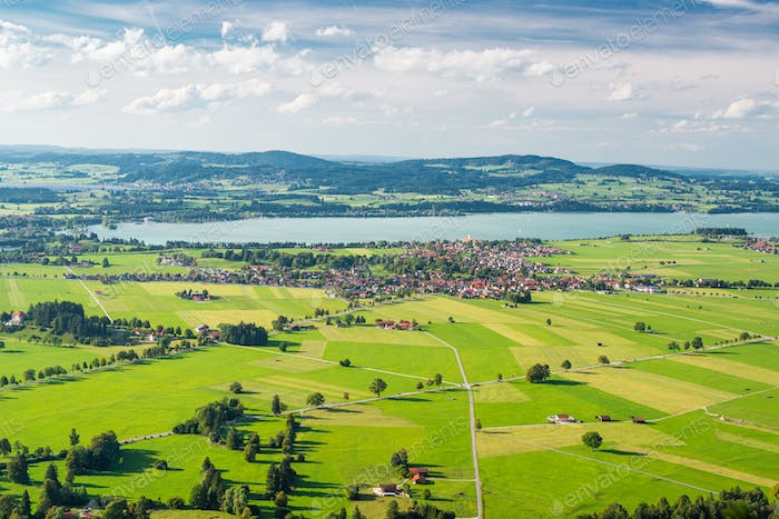 Bavaria, Germany Aerial Landscape