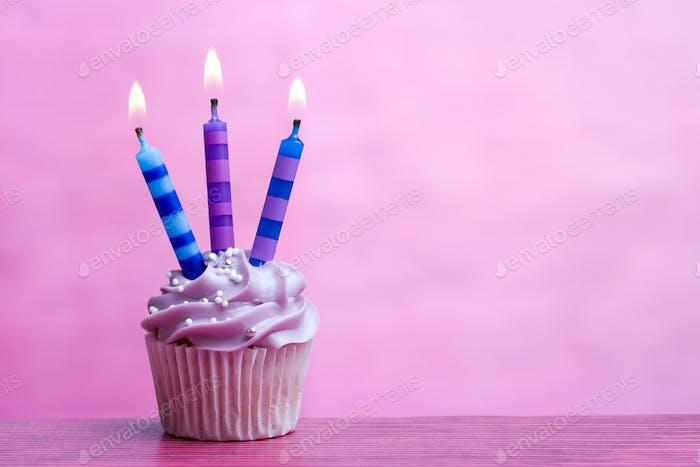 Geburtstags-Cupcake