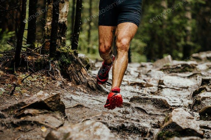 wet feet runner athlete