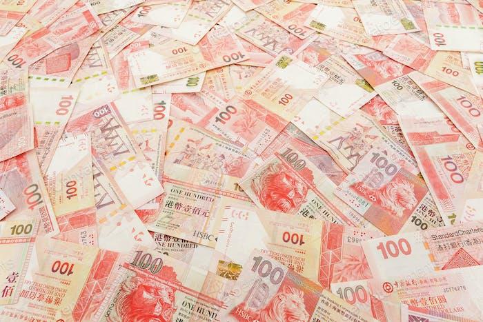 Hong Kong banknote