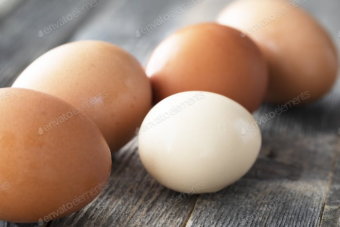 Small and Large Eggs