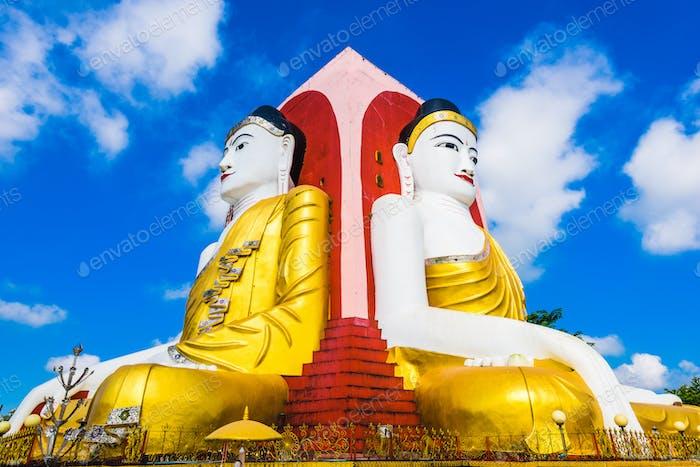 Four Buddhas Statue