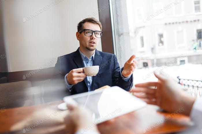 Discussion of men