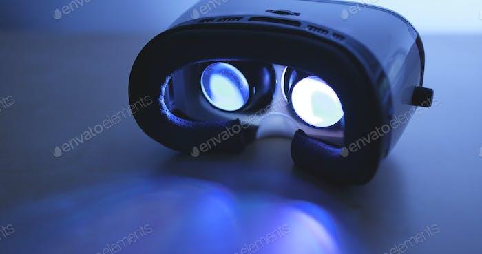 Realidad virtual en la noche