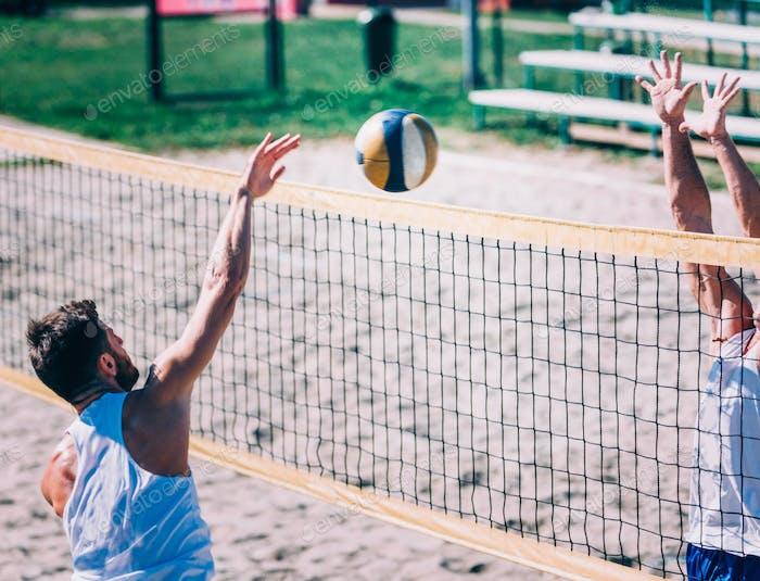 Beach-Volleyball-Wettbewerb