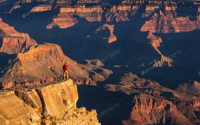 Wanderung im Grand Canyon