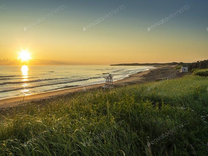 Cavendish beach in Prince Edward Island