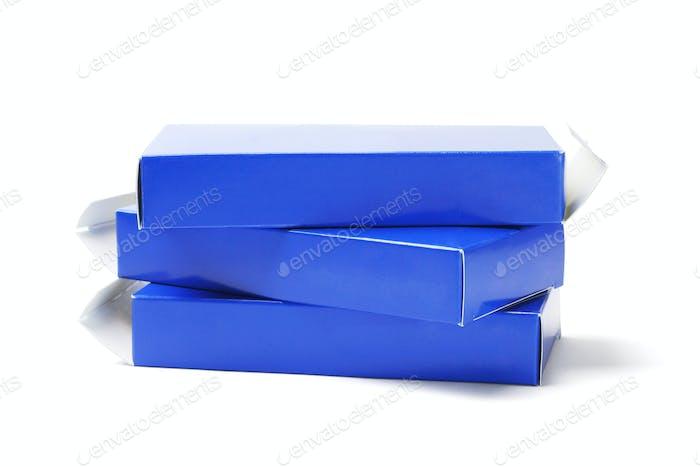 Empty Cardboard Medicine Boxes