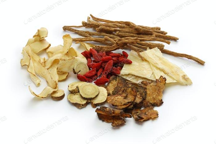 Malaysia bak kut teh Zutaten, traditionelle chinesische Kräutermedizin